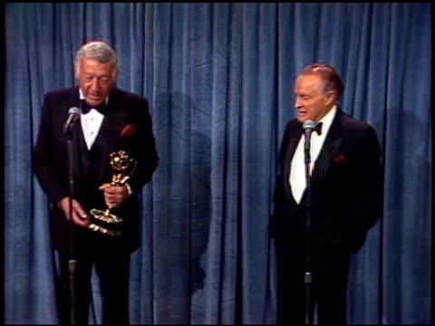 Bob Hope at the 1989 Emmy Awards Backstage at the Pasadena Civic Auditorium in Pasadena California on September 17 1989