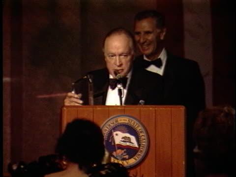 Bob Hope at the Governors Award at Regency Hotel