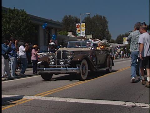Bob Hope at the Toluca Lake Parade with Bob Hope at Toluca Lake in Toluca Lake CA