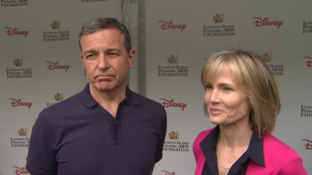 Bob Iger and Willow Bay on how he feels to be at the 22nd Annual Time for Heroes Celebrity Picnic why Disney wanted to sponsor this cause how they...