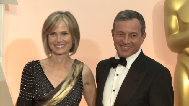 bob iger at the 87th annual academy awards arrivals at dolby theatre on february 22 2015 in hollywood california - the dolby theatre stock videos & royalty-free footage