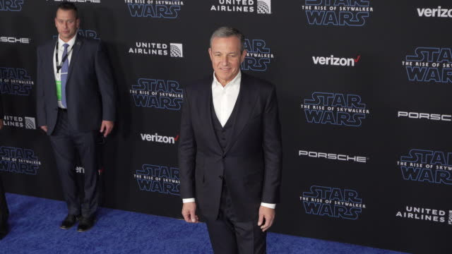 """bob iger at the premiere of disney's """"star wars: the rise of skywalker"""" on december 16, 2019 in hollywood, california. - star wars stock videos & royalty-free footage"""