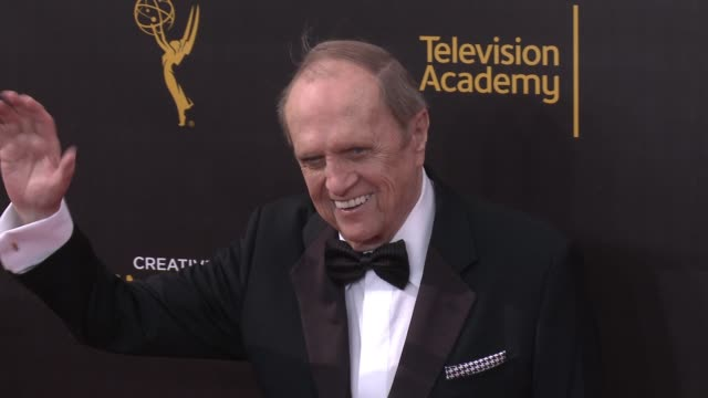 bob newhart at the 2016 creative arts emmy awards - day 1 - arrivals at microsoft theater on september 10, 2016 in los angeles, california. - emmy awards stock-videos und b-roll-filmmaterial