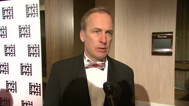 INTERVIEW Bob Odenkirk on the event at 64th Annual ACE Eddie Awards in Los Angeles CA