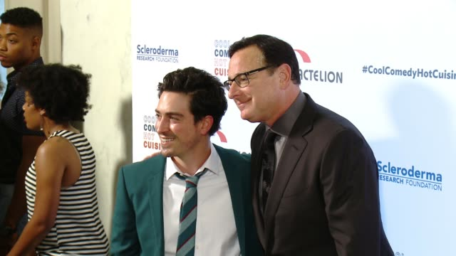 Bob Saget and Ben Feldman at the Cool Comedy Hot Cuisine 30th Annual Benefit For The Scleroderma Research Foundation at the Beverly Wilshire Four...