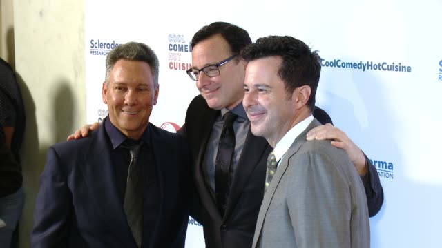 Bob Saget and Jeff Franklin at the Cool Comedy Hot Cuisine 30th Annual Benefit For The Scleroderma Research Foundation at the Beverly Wilshire Four...