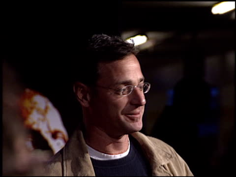 bob saget at the 'house of 1000 corpses' premiere at arclight cinemas in hollywood california on april 9 2003 - arclight cinemas hollywood video stock e b–roll