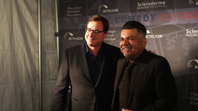 Bob Saget George Lopez at Scleroderma Research Foundation's 30th Anniversary Cool Comedy Hot Cuisine New York at Caroline's Comedy Club on December 5...