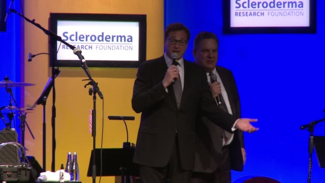 """SPEECH Bob Saget Jeff Garlin at """"Cool Comedy / Hot Cuisine"""" An Evening Benefitting the Scleroderma Research Foundation in Los Angeles CA"""