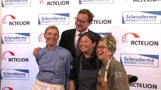 """Bob Saget Mary Sue Milliken Susan Feniger at """"Cool Comedy / Hot Cuisine"""" An Evening Benefitting the Scleroderma Research Foundation in Los Angeles CA"""