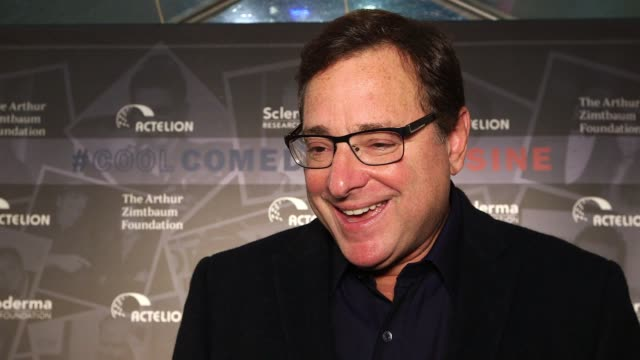 INTERVIEW Bob Saget on supporting the foundation at Scleroderma Research Foundation's 30th Anniversary Cool Comedy Hot Cuisine New York at Caroline's...