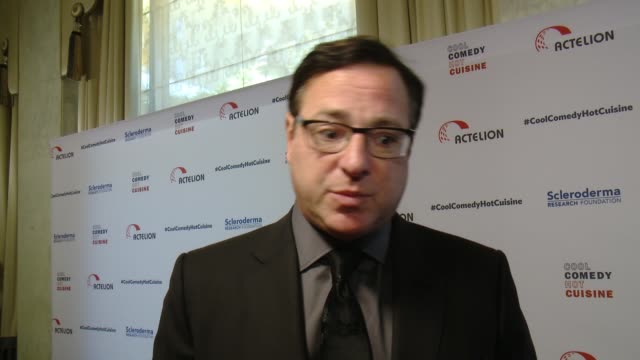 INTERVIEW Bob Saget on what it means to be receiving this honor why this is a cause that is close to his heart how people can get involved with the...