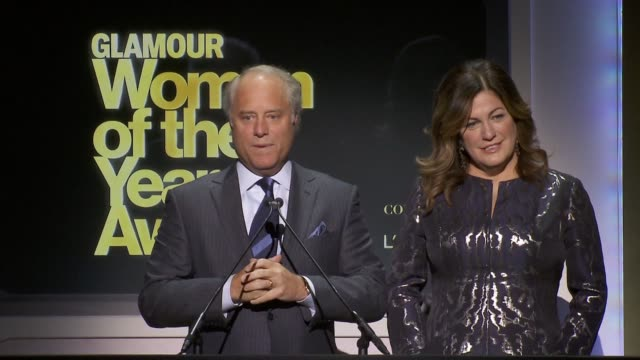 SPEECH Bob Sauerberg President of Conde Nast welcomes audience to the event introduces Cindi Leive at Glamour Magazine's 24th Annual Women Of The...