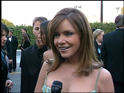 stockvideo's en b-roll-footage met bobbie eakes at the soap opera digest awards entrances at universal studios in universal city, california on february 26, 1999. - soapserie