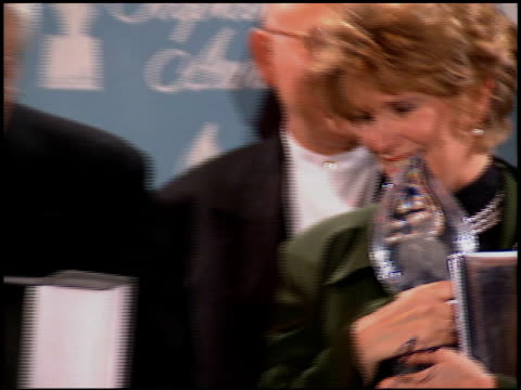 bobbie phillips at the 1996 people's choice awards at universal studios in universal city, california on march 10, 1996. - universal city video stock e b–roll
