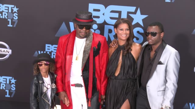 Bobby Brown Alicia Etheredge at 2017 BET Awards in Los Angeles CA