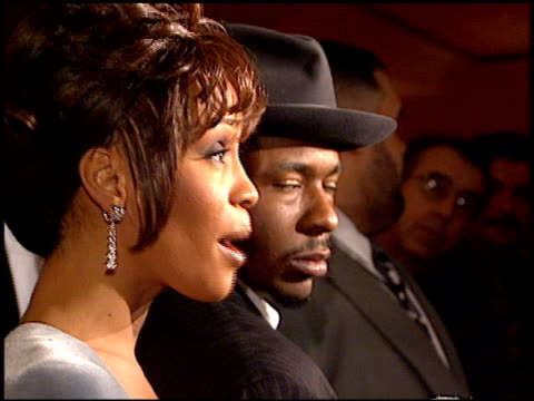 bobby brown at the arista records grammy awards party at the beverly hilton in beverly hills california on february 27 1996 - 1996 stock videos & royalty-free footage