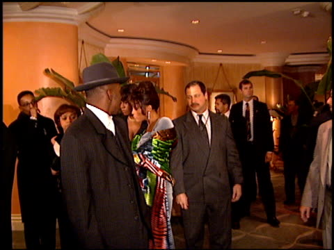 Bobby Brown at the Arista Records Grammy Awards Party at the Beverly Hilton in Beverly Hills California on February 27 1996