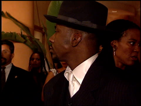 stockvideo's en b-roll-footage met bobby brown at the arista records grammy awards party at the beverly hilton in beverly hills california on february 27 1996 - 1996