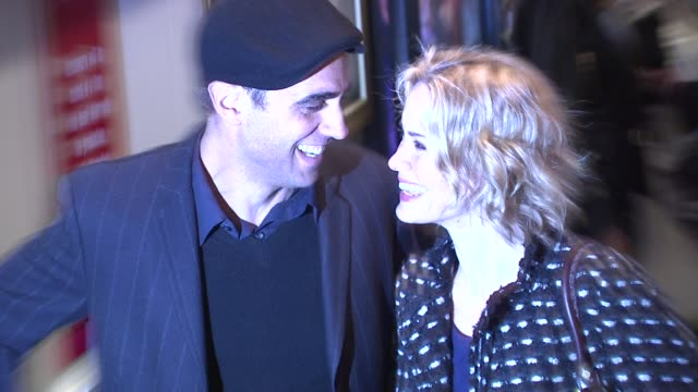 bobby cannavale and sarah paulson at the 'west side story' broadway opening night at new york ny - sarah paulson stock videos and b-roll footage