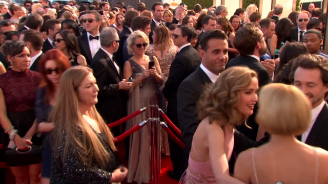 bobby cannavale arrives at the 2013 emmy awards. - emmy awards stock videos & royalty-free footage