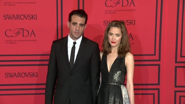 bobby cannavale rose byrne at 2013 cfda fashion awards arrivals at alice tully hall on june 03 2013 in new york new york - rose byrne stock videos and b-roll footage