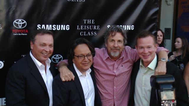 Bobby Farrelly Len Amato Peter Farrelly and Perrin Chiles at Matt Damon Ben Affleck Adaptive Studios And HBO Present The Project Greenlight Season 4...
