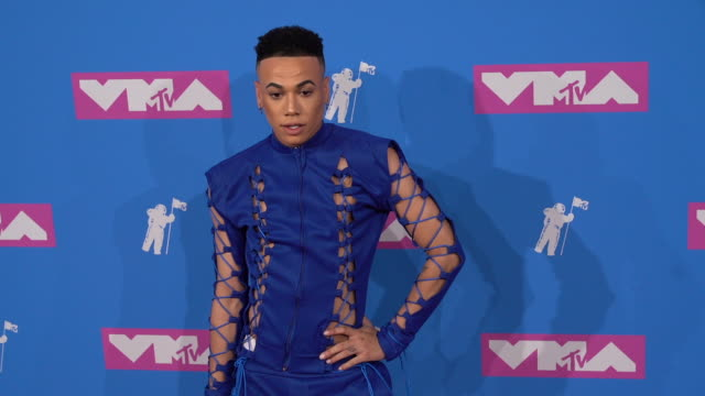 bobby lytes at 2018 mtv video music awards at radio city music hall on august 20, 2018 in new york city. - radio city music hall stock videos & royalty-free footage