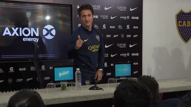 Boca Juniors coach Guillermo Barros Schelotto whose side will face the mighty River Plate in the first ever superclasico Copa Libertadores final says...