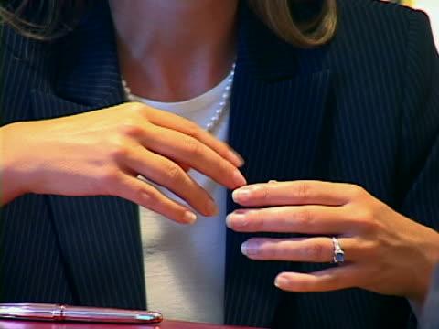 body language - formal businesswear stock videos & royalty-free footage