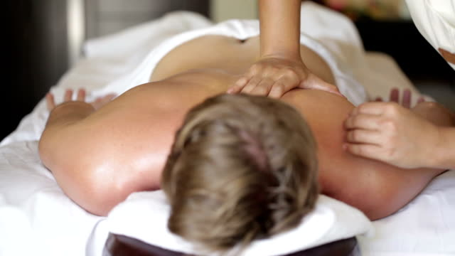 body massage dolly - tourist resort stock videos & royalty-free footage