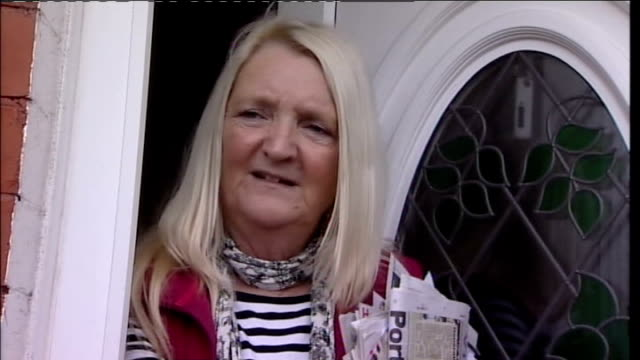 body of another elderly woman discovered in southport england southport ext katy batey interview sot - イングランド サウスポート点の映像素材/bロール