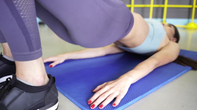 body shaping - pilates stock videos and b-roll footage