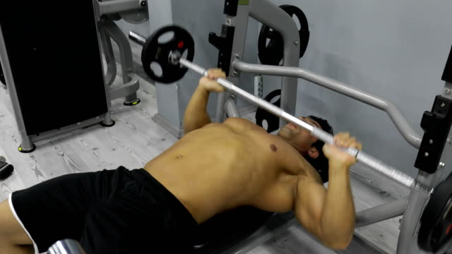 bodybuilder - arm curl stock videos and b-roll footage
