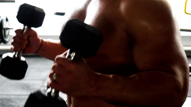 bodybuilding - チャード点の映像素材/bロール