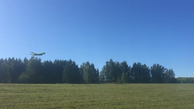 "Boeing 737-800 VP-BQF - passenger airplane ""S7"", landing at the International Airport Krasnoyarsk (Emelyanovo)"