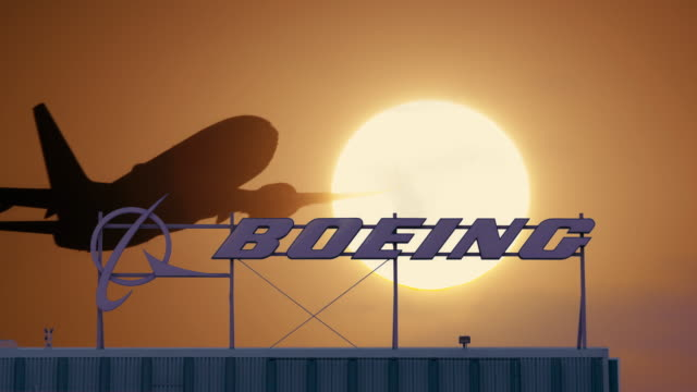 boeing company - boeing stock videos & royalty-free footage