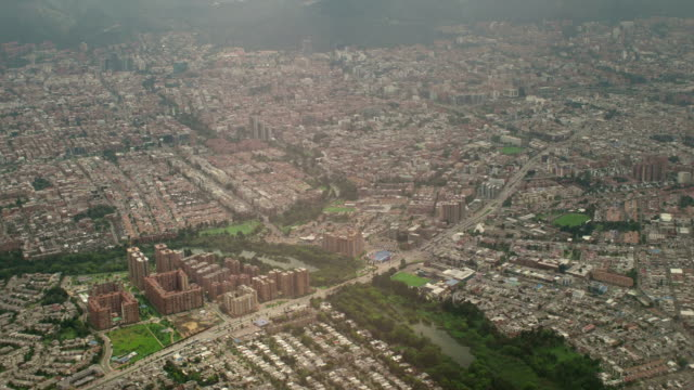 Bogota Aerial View, Colombia