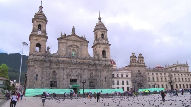 Bogota prepares to receive Pope Francis in September with the Catedral Primada and other sites being touched up before the arrival of the Argentine...
