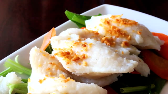 boiled fish sauce, thai food - thai food stock videos and b-roll footage