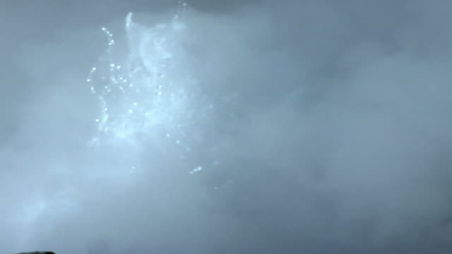 ecu boiling water in geyser, el tatio, san pedro de atacama, el loa, chile - san pedro de atacama stock videos & royalty-free footage