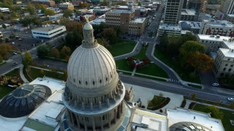 boise capitol building 180 - state capitol building stock videos & royalty-free footage