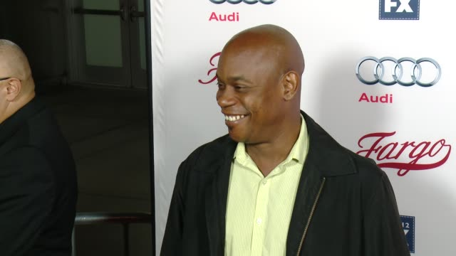 bokeem woodbine at fx's fargo los angeles premiere at arclight cinemas on october 07 2015 in hollywood california - arclight cinemas hollywood stock videos & royalty-free footage