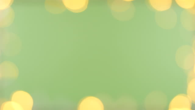 bokeh light green screen background - christmas lights stock videos & royalty-free footage