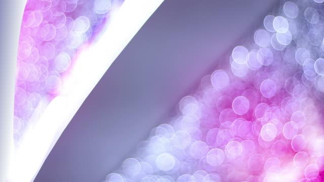bokeh lights (endlos wiederholbar) - plakette stock-videos und b-roll-filmmaterial