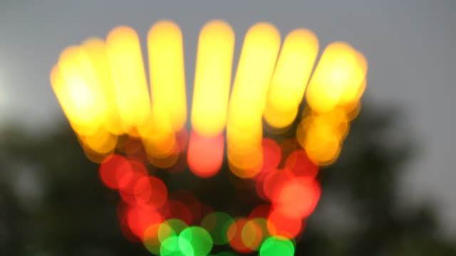 bokeh of light - saturated colour stock videos & royalty-free footage