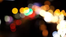 Bokeh of traffic light