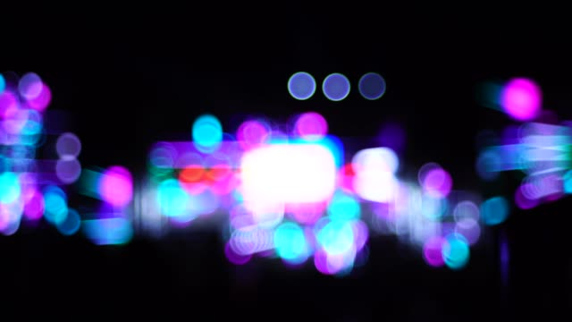 bokeh out of focus blur light shots - atmosphere filter stock videos & royalty-free footage
