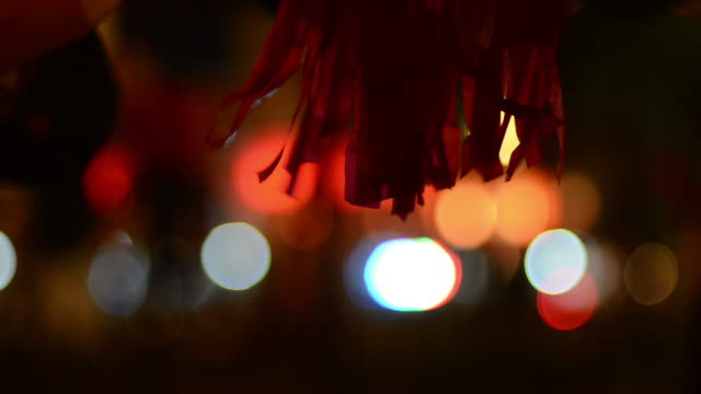 bokeh - fiesta background stock videos & royalty-free footage
