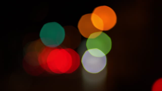 bokeh - stoplight stock videos & royalty-free footage